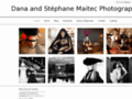 Portrait and fashion photographer in PARIS, FRANCE/ Dana et Stephane MAITEC - Photographe de mode, portrait et beaute a Paris